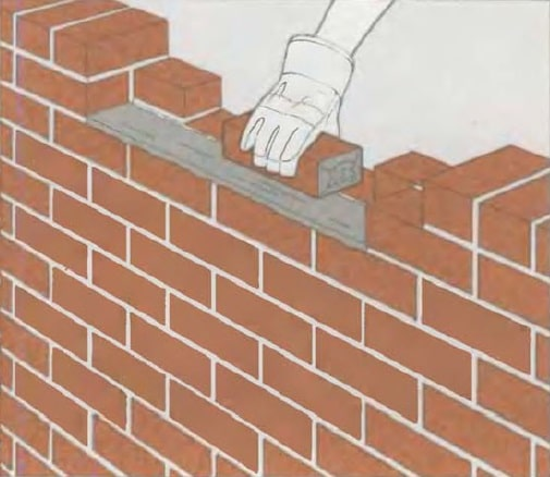Masonry Pointing: Joints Recovery to Spalling Brick Repair. Restoration of the wall