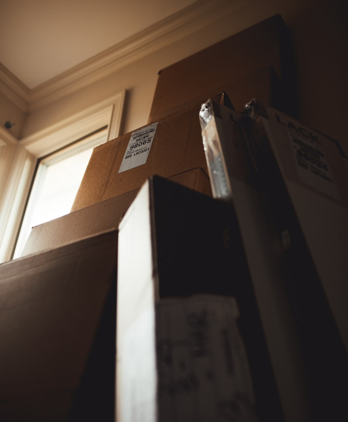 Moving to Your First Apartment? Tips on What You'll Need. Boxes for personal things