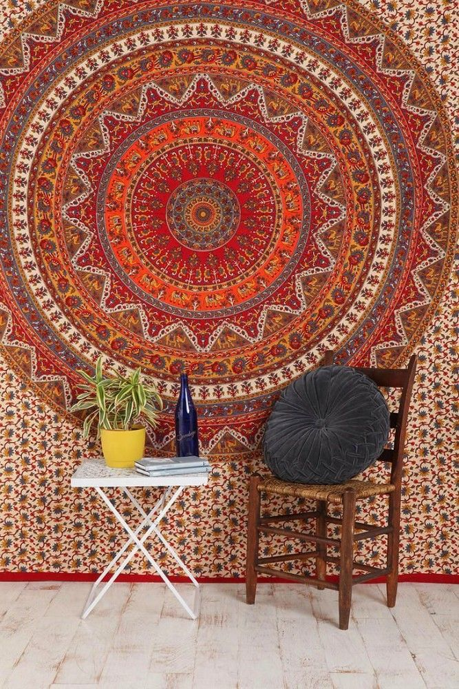 Carpet on the Wall: Modern Interior Design Ideas. Classic styled room