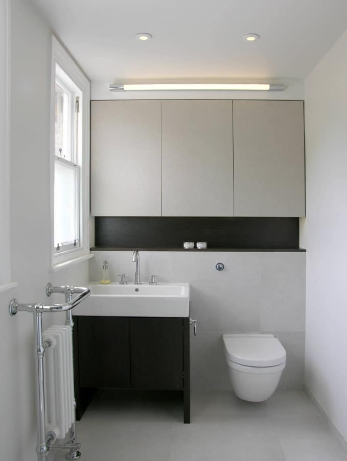 Designing Your Interior for Maximum Space Efficiency. Effective toilet storage
