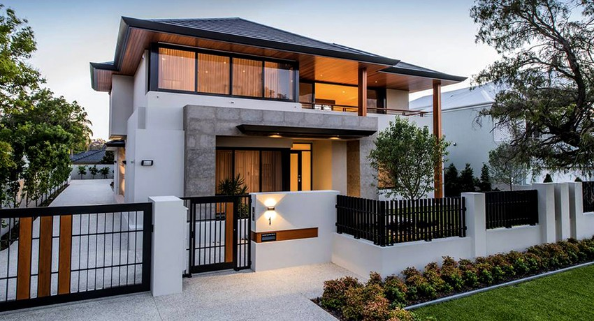 How to Budget for A New Build Home. Great beautiful modern house as a result of good planning
