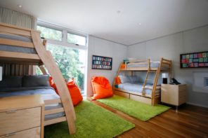Bunk Bed as an Option to Enhance the Interior Functionality