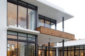 Cantilever Balcony to Enhance the House Facade Design