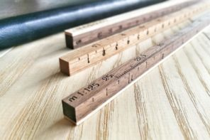 Personalized Gifts for a Home Designer. Specific ruler for pros