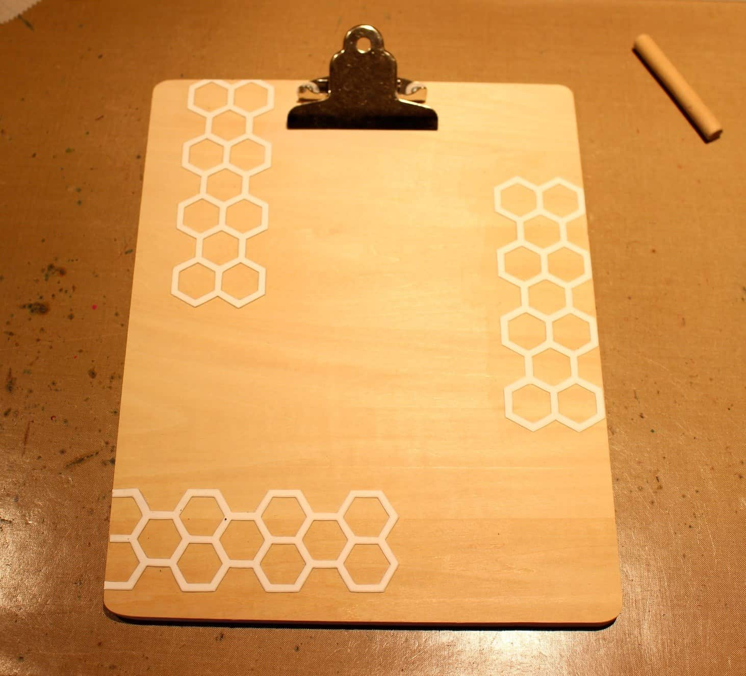 Personalized Gifts for a Home Designer. Wooden Clipboard