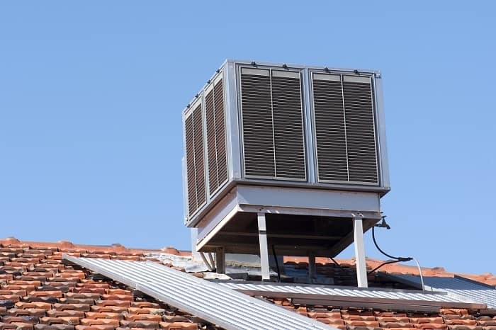 The Best Evaporative Cooling System at the roof of the house