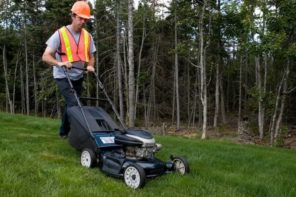 4 Reasons You Need to Hire a Professional Lawn Care Company For Your Yard. The worker at the lawn trimming
