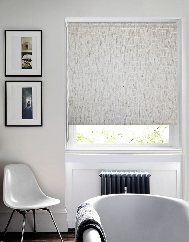 White colored walls for modern designed room with decorative radiator