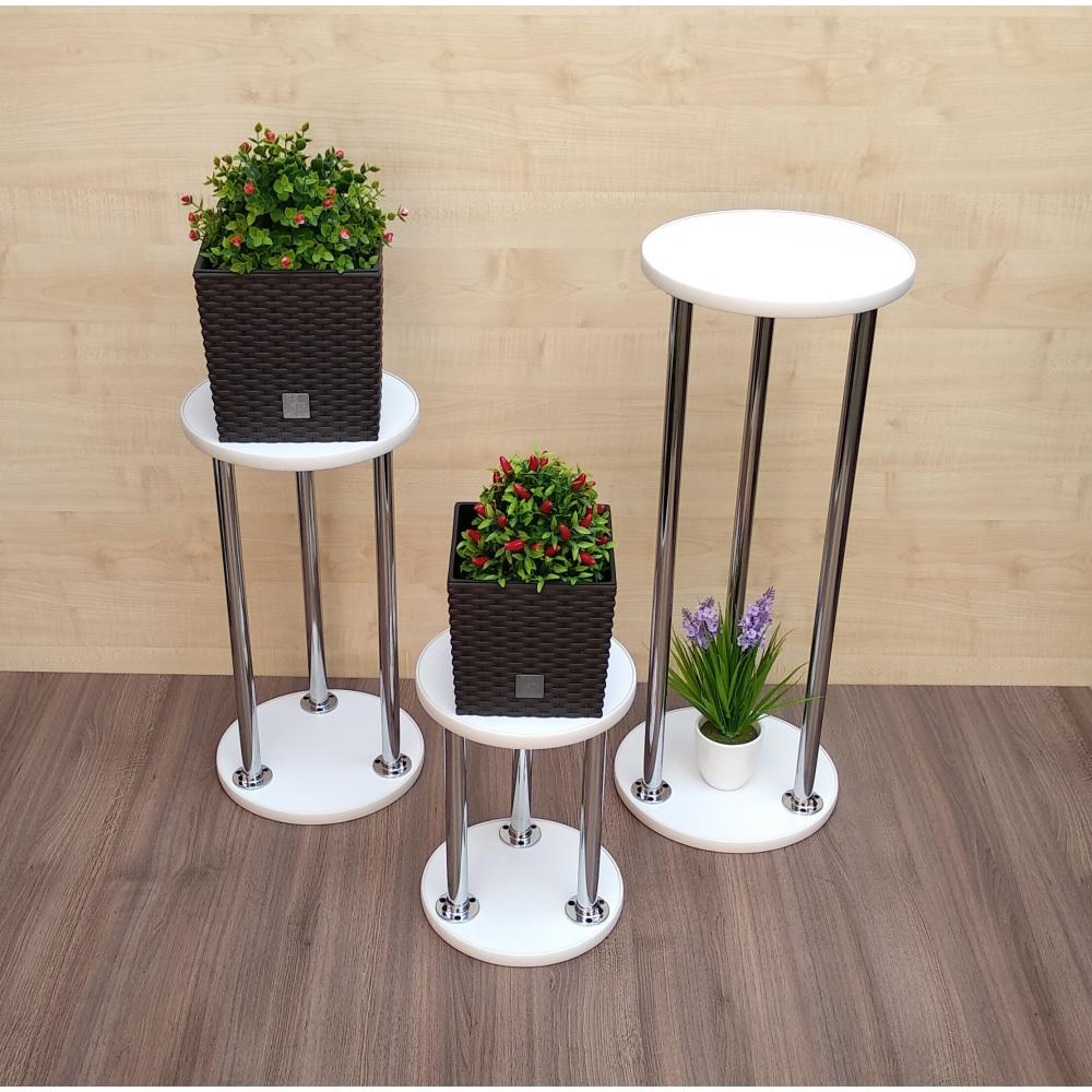 Unusual bar stool imitating flower stands