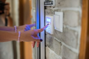 6 Questions to Ask When Considering a Home Security System. The dial panel at the entrance door