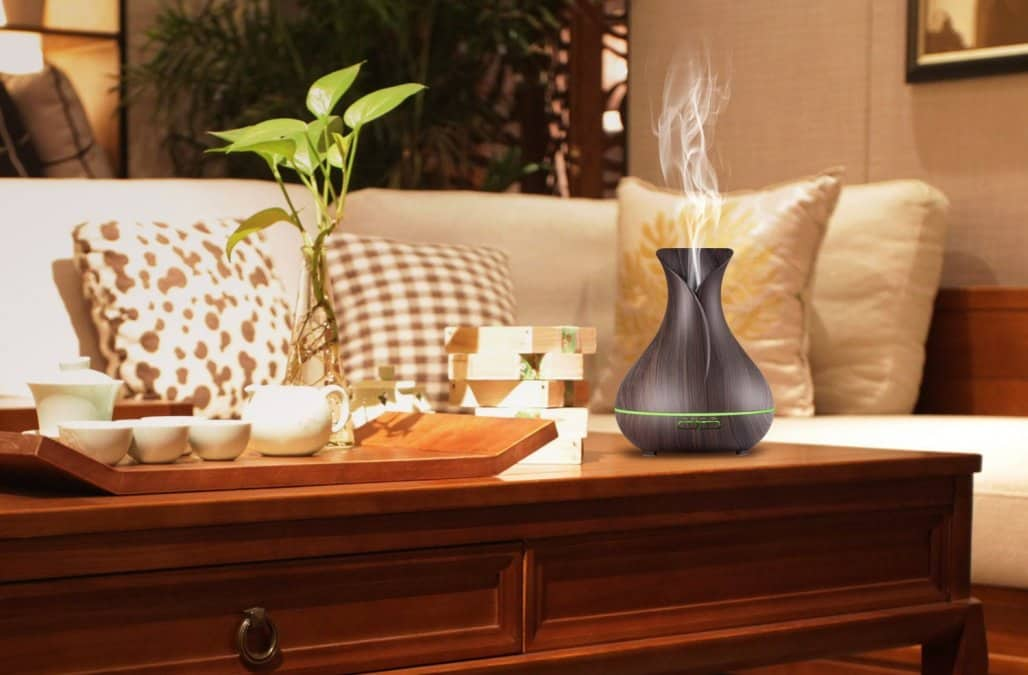 Caring about Health: Easy Ways to Humidify Your Home. Tray and steaming water