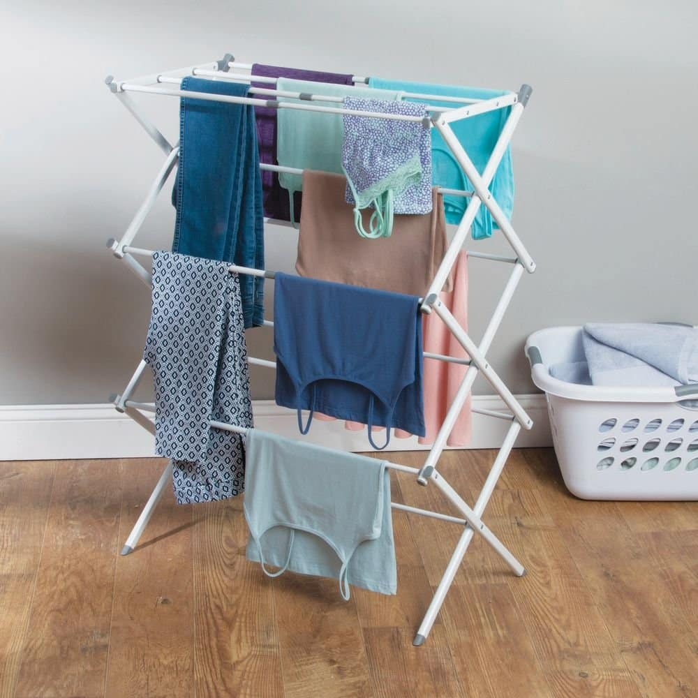 Air drying the clothes