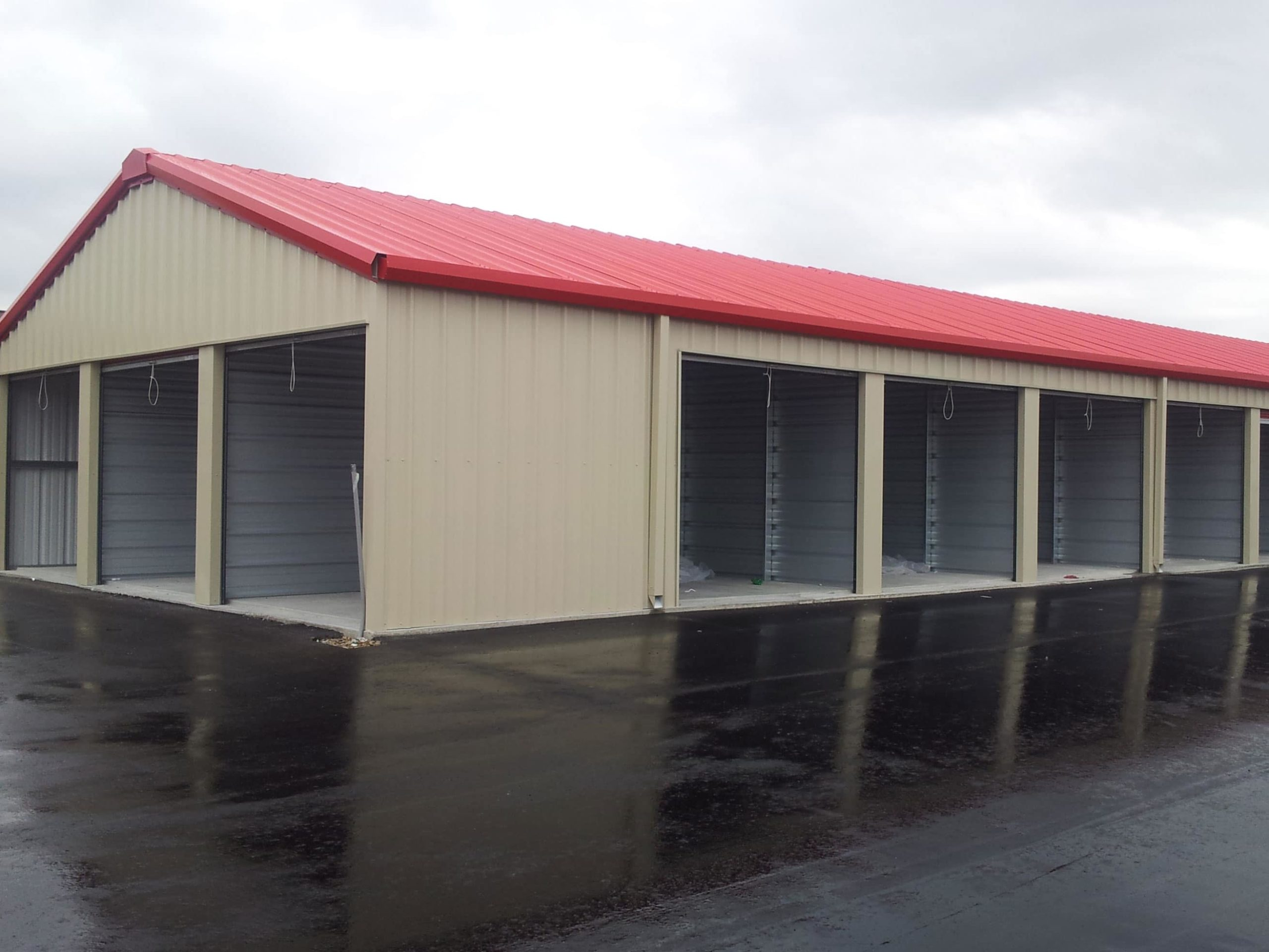 The Ultimate Guide to the Best Mini Storage Building Plans Design Ideas. Metal building with large space inside