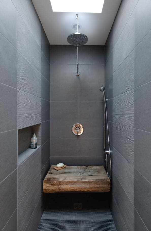 A Few Quick Tips to Help You Find the Best Handheld Shower Head. Great gray modern bathroom design for one person