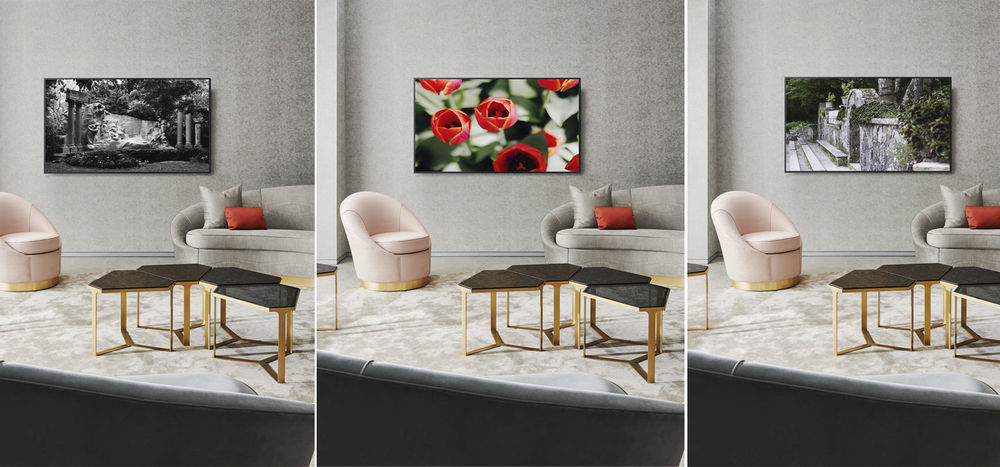 TV set helps you to have a new piece of art at home every day