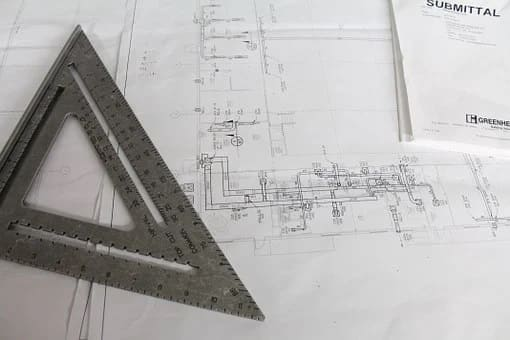 5 Home Improvement Ideas for 2020. The design project and the triangle ruler