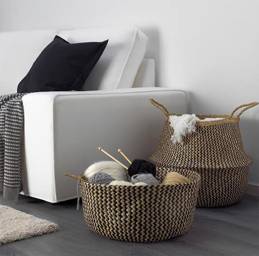 Baskets to organize your personal things