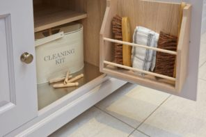 The Guide to Office Cleaning in Australia. Well organised cleaning kit at home