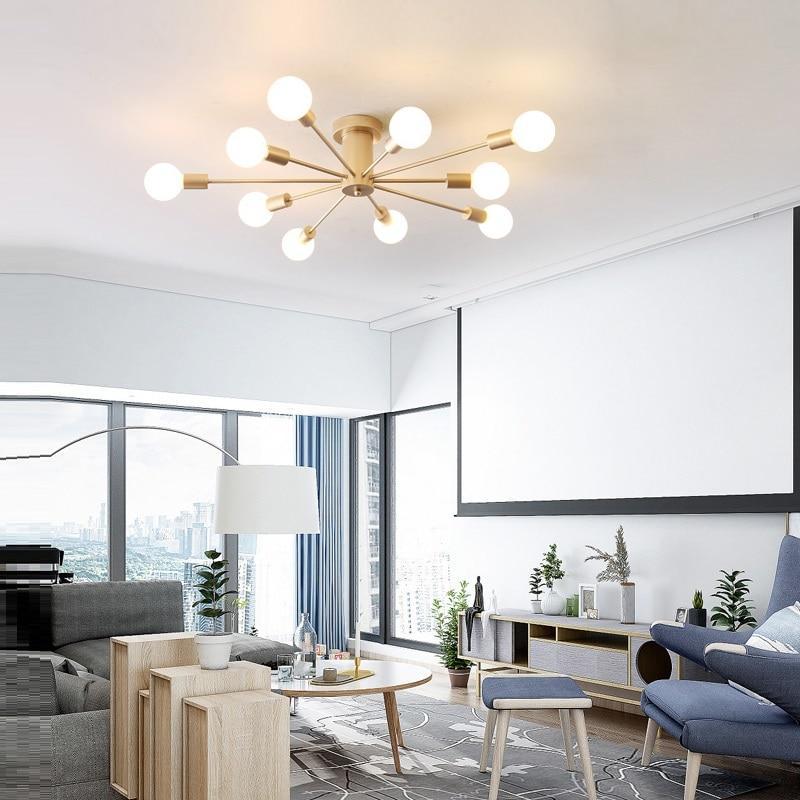 Simple designed chandelier for regular e27 bulbs