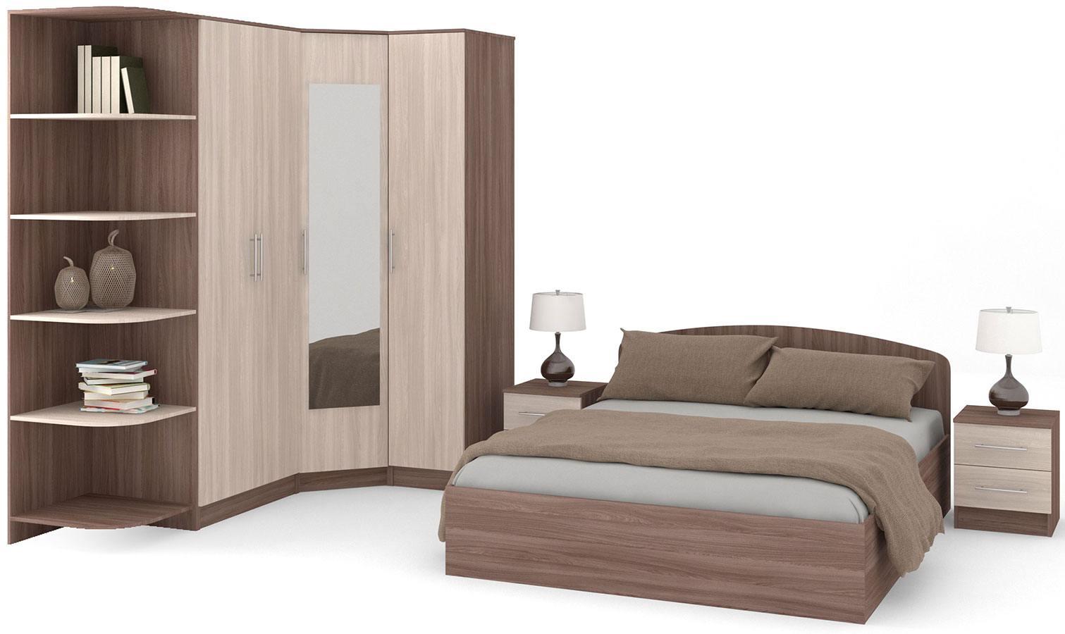 Typical bedroom design sketch