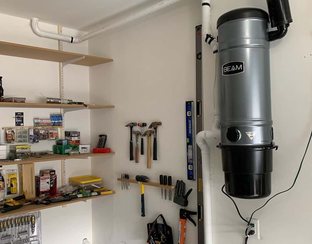 Central Vacuum Systems and How They Work. Real example of installed device