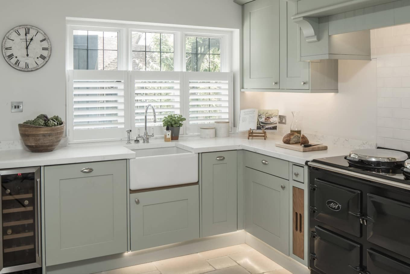 Top 15 Home Security Tips and Tricks. Nice ethnic casual styled kitchen with bottom lighting