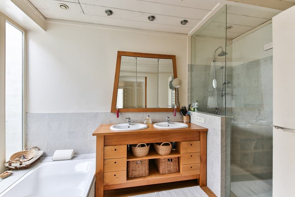 5 Reasons Why Timber Vanities are Best for Your Bathroom. Rustic styled furniture with vivid light wooden color