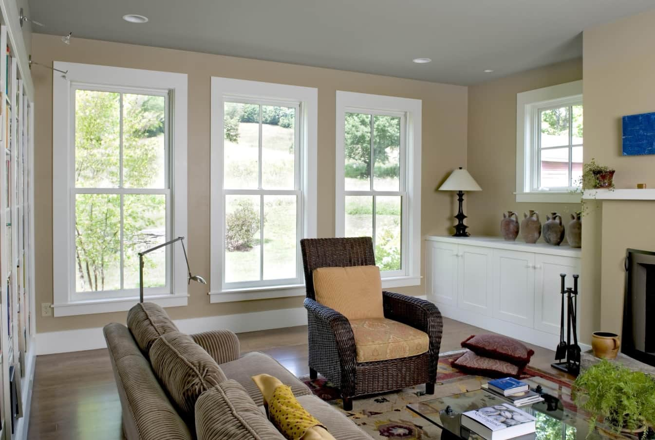 Let in the Light! 7 of the Best Window Styles to Consider for Your Home. Classic American design of the living in the cottage