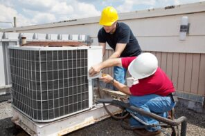 Are HVAC Maintenance Plans Worth It? Installing the HVAC system at the roof