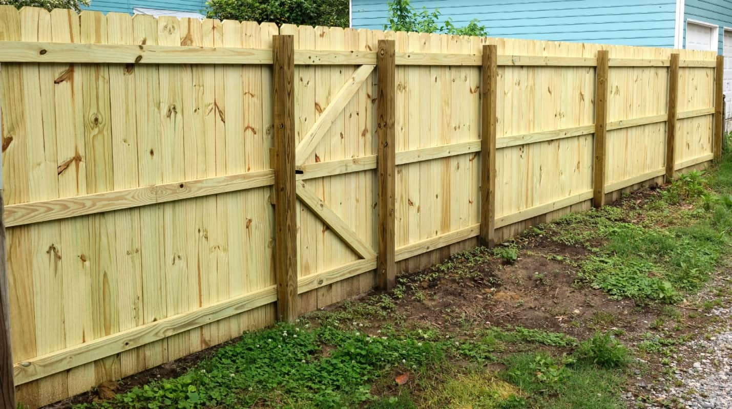 How Can I Find a Local Fence Contractor I Can Trust and Depend On? Simple wooden fence