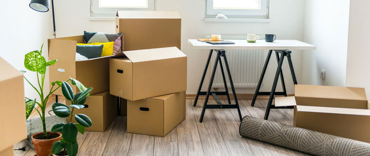 Moving Hacks That You Never Thought Of. Cardboard boxes for personal things