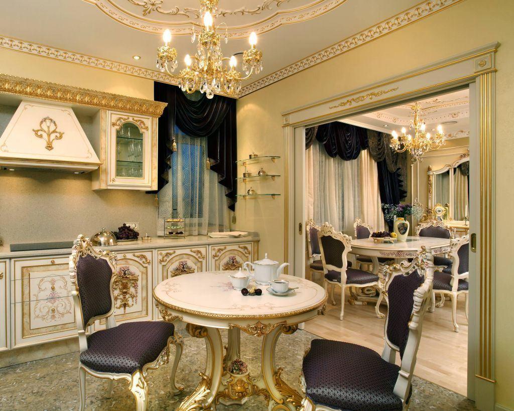 Lighweight Baroque design close to French classics