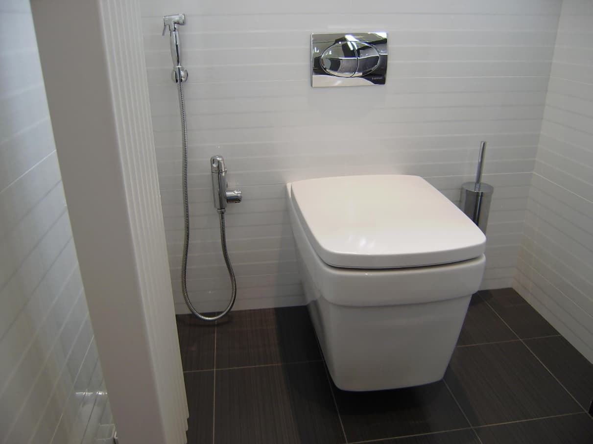 The Perfect, Eco Friendly Bathroom Should Always Include A Bidet. Simply clever designing of the toilet