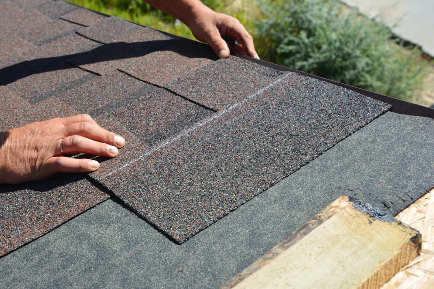 A Beginner's Guide on How to Shingle a Roof. Covering the roof with asphalt shingles