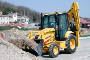 4 Reasons To Rent Construction Equipment. The bulldozer at the land plot