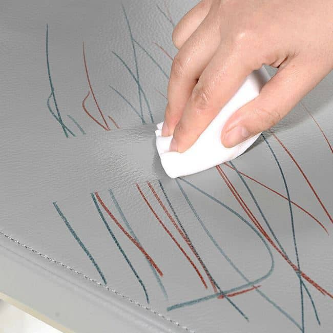 5 Reasons to Keep Rubbing Alcohol Stocked in Your Home. Eliminating the marker drawings out the leather