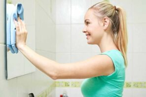 5 Reasons to Keep Rubbing Alcohol Stocked in Your Home. Rubbing the mirror with cloth