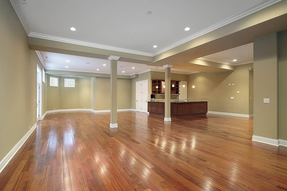 Make Your Lovely House Come To Life Again. Large open space with pastel color finishing but without any furniture