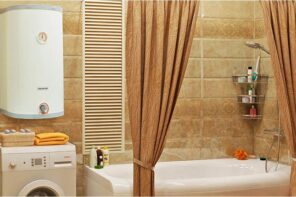 4 Main Reasons Why Electronic Ignition Water Heater Won't Light. Sandy colored tile for warm colored bathroom