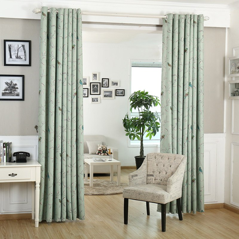 Interior Curtains: Stylish Zoning and Decoration Element. High ceiling for spacious casual room in light palette