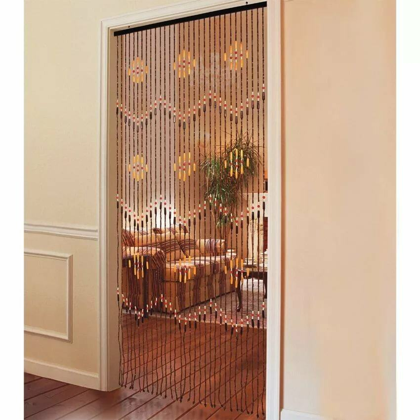 Wooden made interior curtains