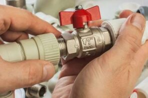 How To Improve The Plumbing In Your Home. Plastic pipes and valve
