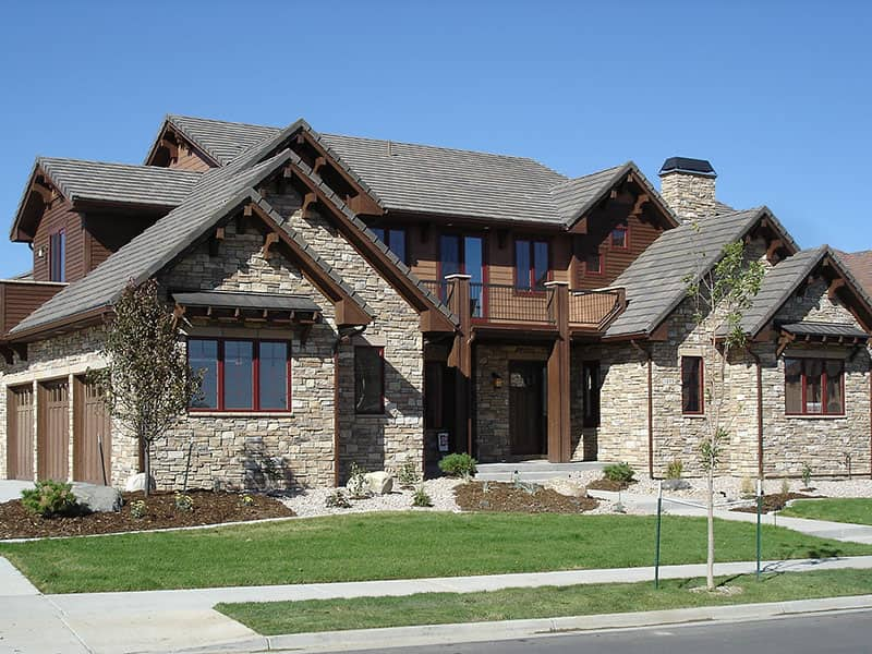 High-Demand Areas of Your Home That Attract Potential Home Buyers. Great designed coast mansion with stone facade