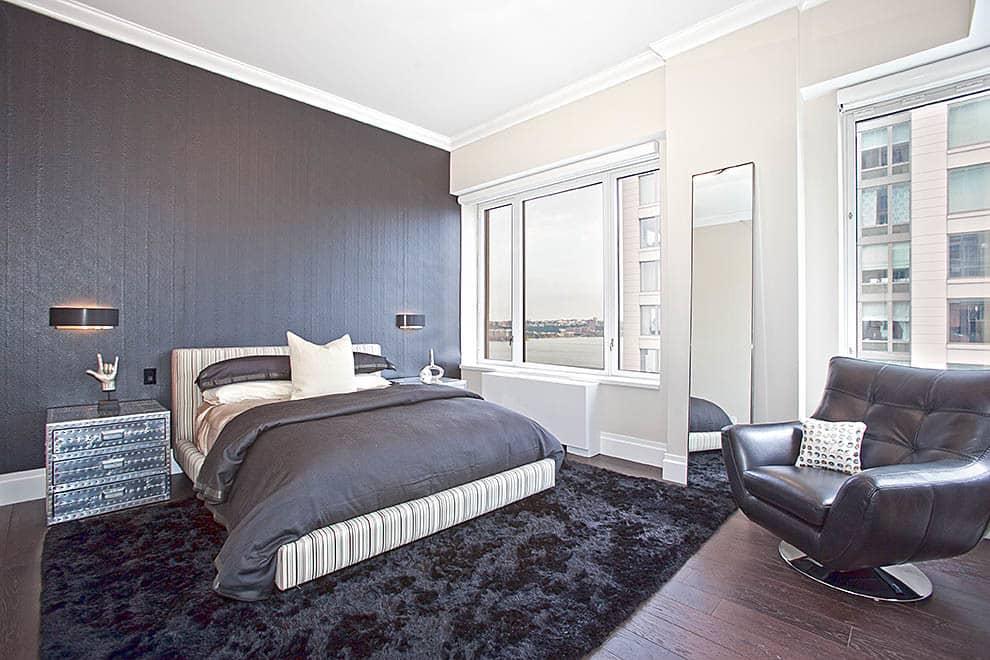 Monochrome black wallpaper