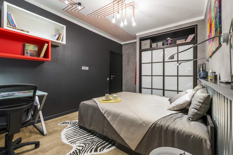 Loft in the bedroom