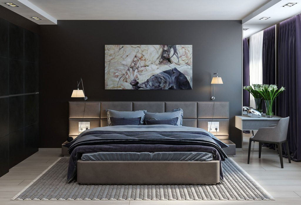Decorating Ideas for Dark Bedroom Walls