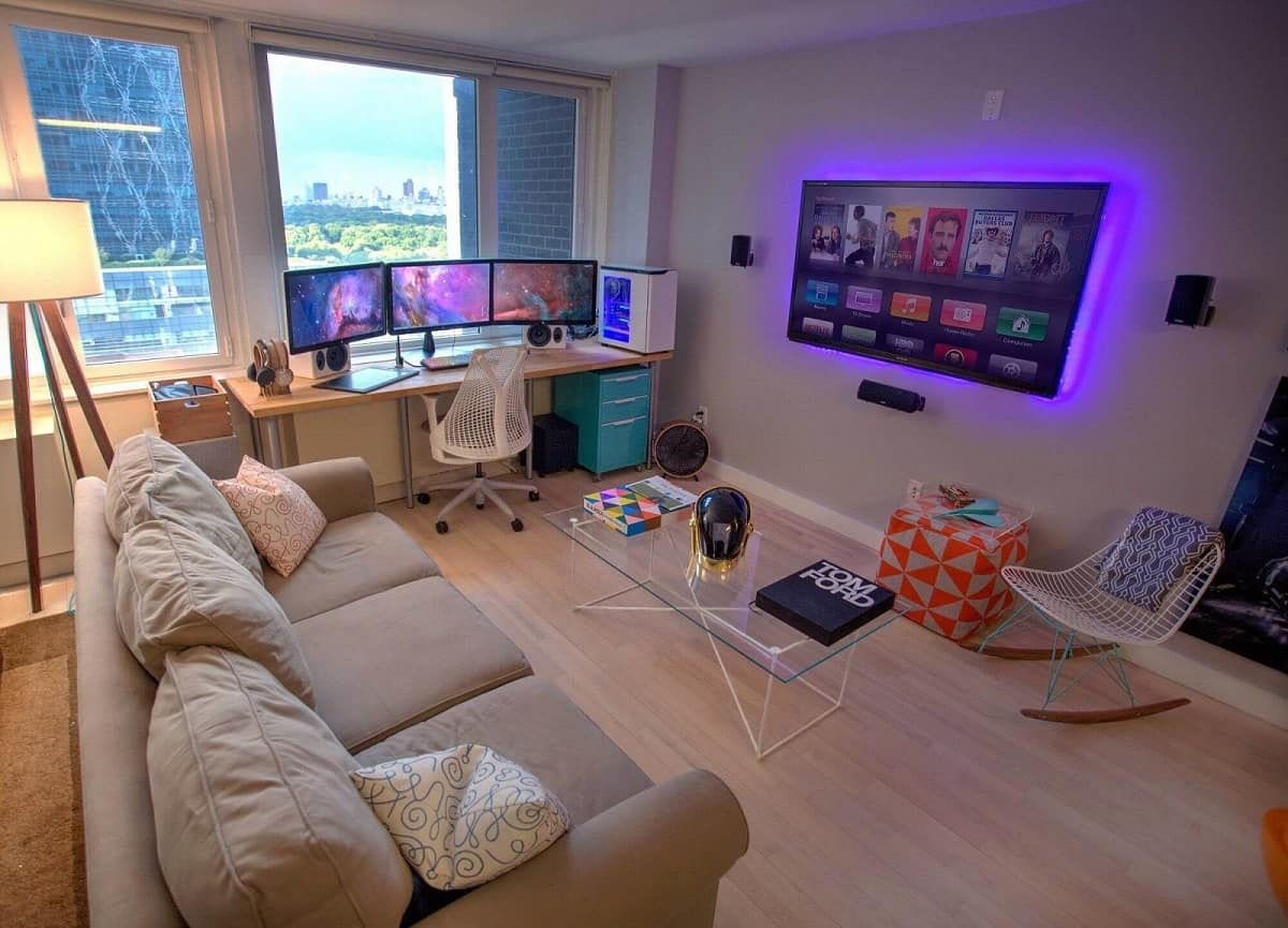 6 Simple Tips to Improve Your Family Game Room. Modern technological relaxing room