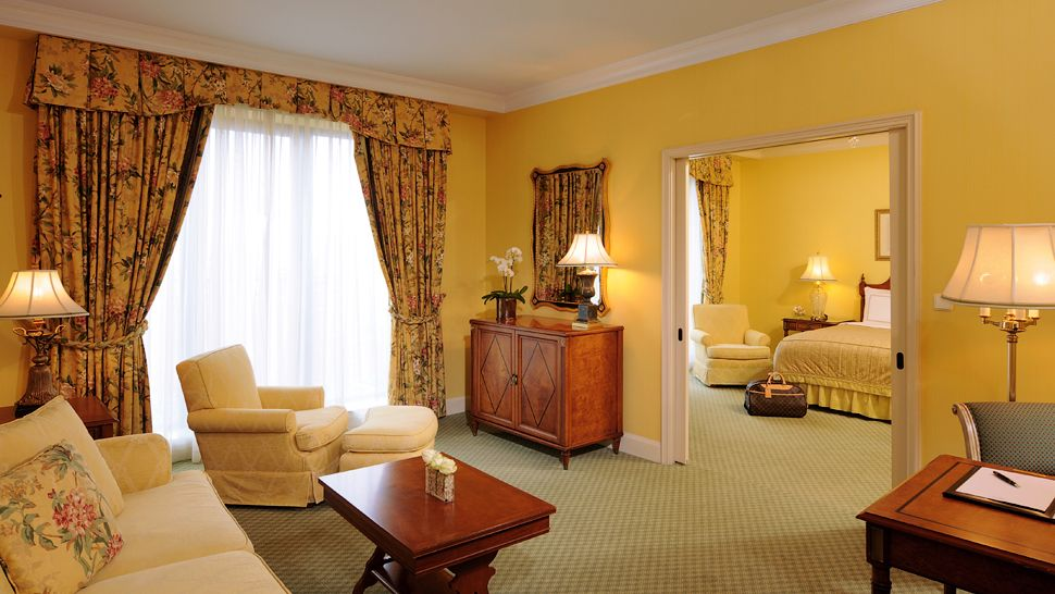 German Interior Design Style Overview and Examples. Yellow painted walls for traditional room design