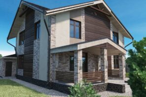 5 Tips On Choosing The Right Cladding For Your House. Modern facaded house the touch of never-fading classic with stone cladding