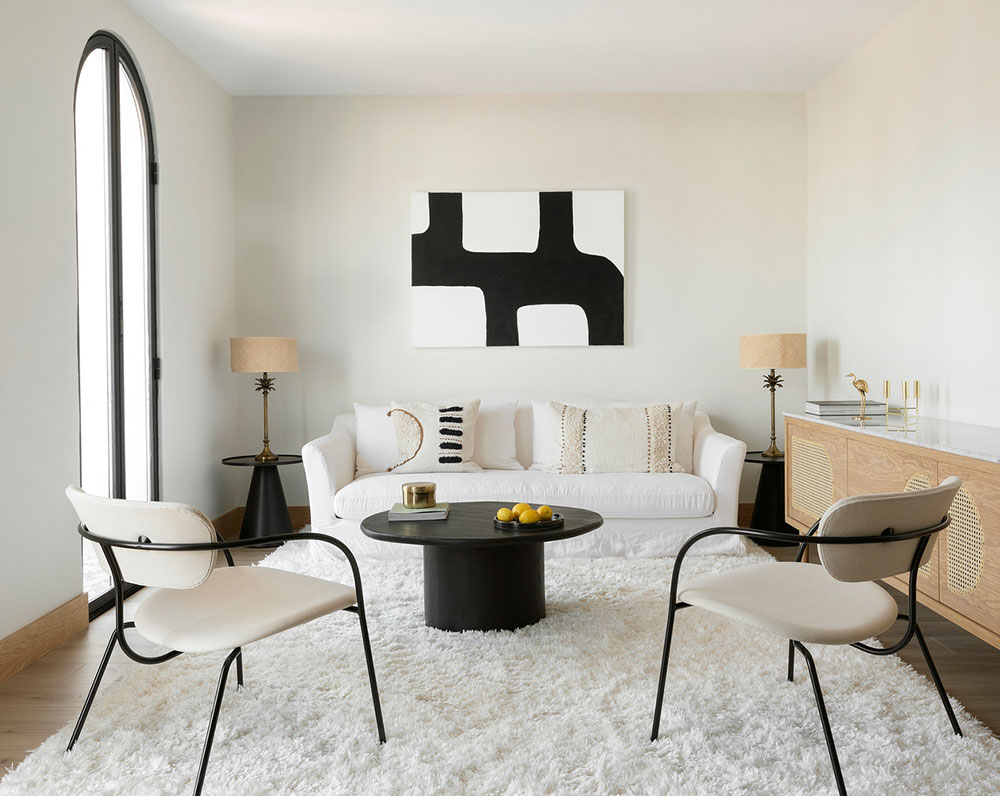 Selling Your House? Here Are 6 Ways to Make It More Attractive to Buyers. Nice neat designed living room in Scandinavian minimalism
